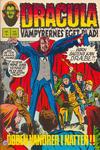 Cover for Dracula (Interpresse, 1972 series) #6