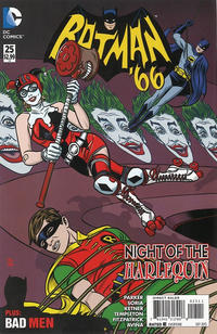 Cover Thumbnail for Batman '66 (DC, 2013 series) #25