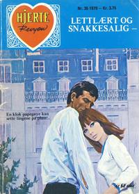 Cover Thumbnail for Hjerterevyen (Serieforlaget / Se-Bladene / Stabenfeldt, 1960 series) #35/1979