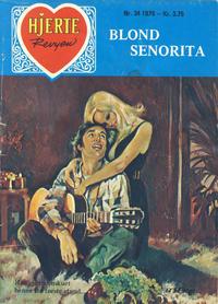 Cover Thumbnail for Hjerterevyen (Serieforlaget / Se-Bladene / Stabenfeldt, 1960 series) #34/1979