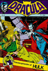 Cover Thumbnail for Dracula (Winthers Forlag, 1982 series) #2