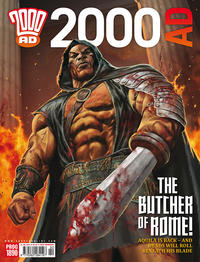 Cover Thumbnail for 2000 AD (Rebellion, 2001 series) #1890