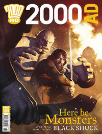 Cover Thumbnail for 2000 AD (Rebellion, 2001 series) #1891