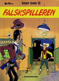 Cover Thumbnail for Lucky Luke (Interpresse, 1971 series) #43 - Falskspilleren