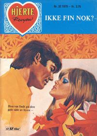 Cover Thumbnail for Hjerterevyen (Serieforlaget / Se-Bladene / Stabenfeldt, 1960 series) #32/1979