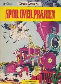 Cover Thumbnail for Lucky Luke (Interpresse, 1971 series) #41 - Spor over prærien