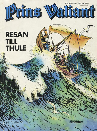 Cover for Prins Valiant (Semic, 1974 series) #8