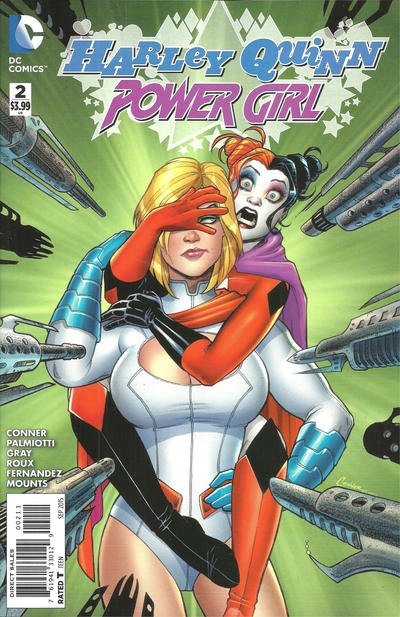 Cover for Harley Quinn and Power Girl (DC, 2015 series) #2 [Boston Comic Con Cover]