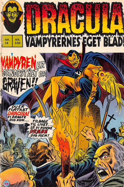 Cover for Dracula (Interpresse, 1972 series) #14