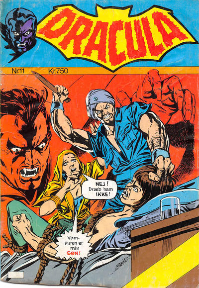 Cover for Dracula (Winthers Forlag, 1982 series) #11