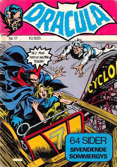Cover for Dracula (Winthers Forlag, 1982 series) #17