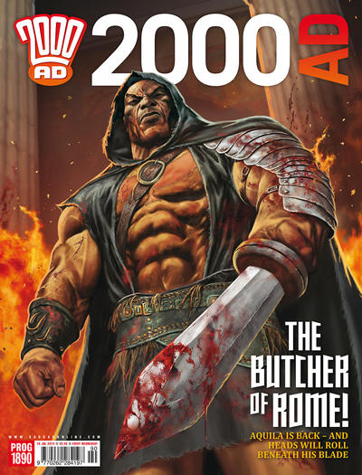 Cover for 2000 AD (Rebellion, 2001 series) #1890