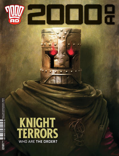 Cover for 2000 AD (Rebellion, 2001 series) #1913
