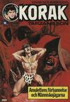 Cover for Korak (Williams Förlags AB, 1966 series) #23/1975