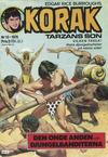 Cover for Korak (Williams Förlags AB, 1966 series) #13/1976