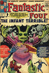 Cover for Fantastic Four (Marvel, 1961 series) #24 [British Price Variant]