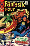Cover for Fantastic Four (Marvel, 1961 series) #63 [British Price Variant]