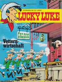 Cover Thumbnail for Lucky Luke (Egmont Ehapa, 1977 series) #21 - Vetternwirtschaft [Nachdruck 1990 ]