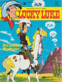 Cover Thumbnail for Lucky Luke (Egmont Ehapa, 1977 series) #51 - Der falsche Mexikaner [Neuauflage 1990]