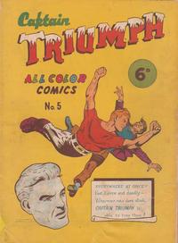 Cover Thumbnail for Captain Triumph Comics (K. G. Murray, 1947 series) #5