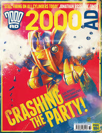 Cover Thumbnail for 2000 AD (Rebellion, 2001 series) #1884
