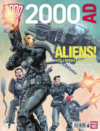 Cover Thumbnail for 2000 AD (Rebellion, 2001 series) #1885