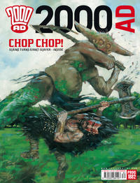 Cover Thumbnail for 2000 AD (Rebellion, 2001 series) #1882