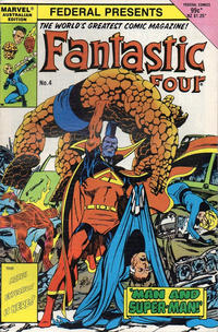 Cover Thumbnail for Fantastic Four (Federal, 1983 series) #4