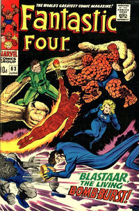 Cover Thumbnail for Fantastic Four (Marvel, 1961 series) #63 [British]
