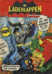 Cover Thumbnail for Läderlappen (Centerförlaget, 1956 series) #10/1966