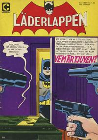 Cover Thumbnail for Läderlappen (Centerförlaget, 1956 series) #8/1967
