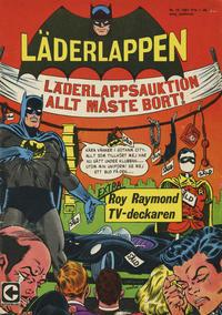 Cover Thumbnail for Läderlappen (Centerförlaget, 1956 series) #10/1967