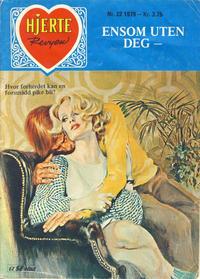 Cover Thumbnail for Hjerterevyen (Serieforlaget / Se-Bladene / Stabenfeldt, 1960 series) #22/1979
