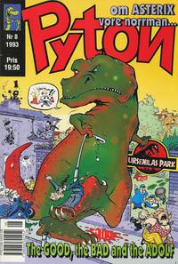Cover Thumbnail for Pyton (Atlantic Förlags AB, 1990 series) #8/1993
