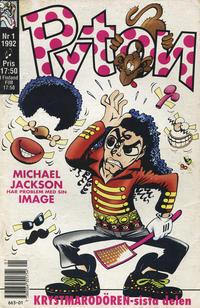 Cover Thumbnail for Pyton (Atlantic Förlags AB, 1990 series) #1/1992