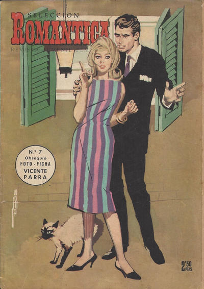 Cover for Romantica (Ibero Mundial de ediciones, 1961 series) #7