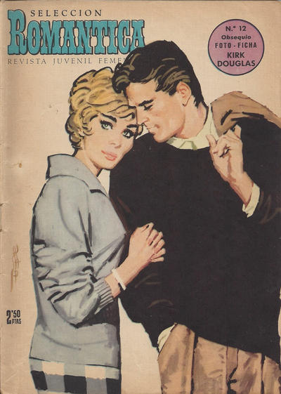 Cover for Romantica (Ibero Mundial de ediciones, 1961 series) #12