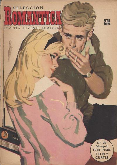 Cover for Romantica (Ibero Mundial de ediciones, 1961 series) #23