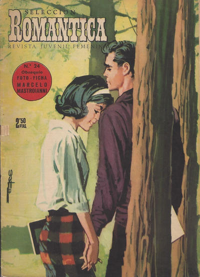 Cover for Romantica (Ibero Mundial de ediciones, 1961 series) #24