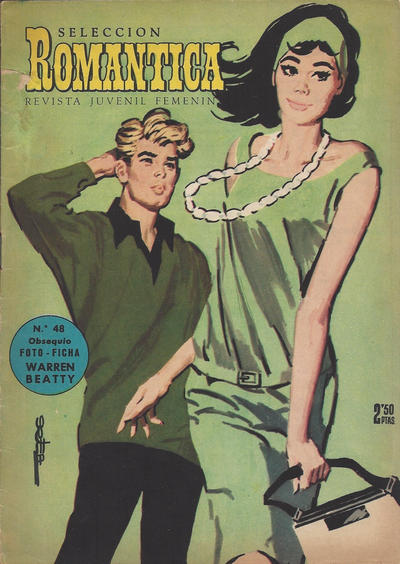 Cover for Romantica (Ibero Mundial de ediciones, 1961 series) #48