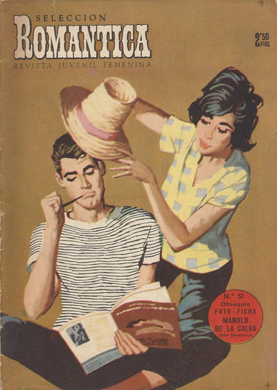 Cover for Romantica (Ibero Mundial de ediciones, 1961 series) #51