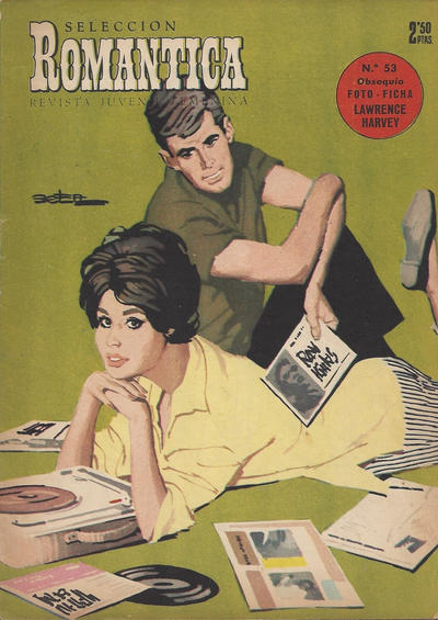 Cover for Romantica (Ibero Mundial de ediciones, 1961 series) #53