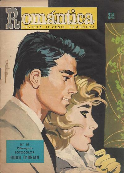 Cover for Romantica (Ibero Mundial de ediciones, 1961 series) #81