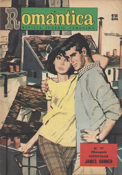 Cover for Romantica (Ibero Mundial de ediciones, 1961 series) #97