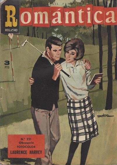 Cover for Romantica (Ibero Mundial de ediciones, 1961 series) #221