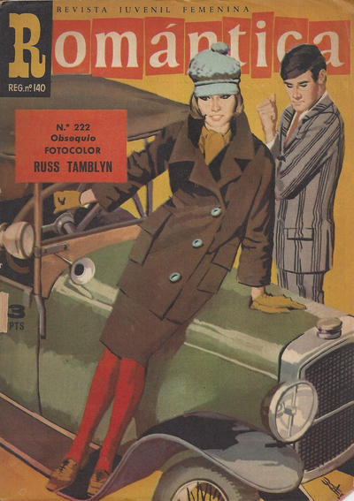Cover for Romantica (Ibero Mundial de ediciones, 1961 series) #222