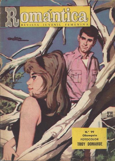 Cover for Romantica (Ibero Mundial de ediciones, 1961 series) #99