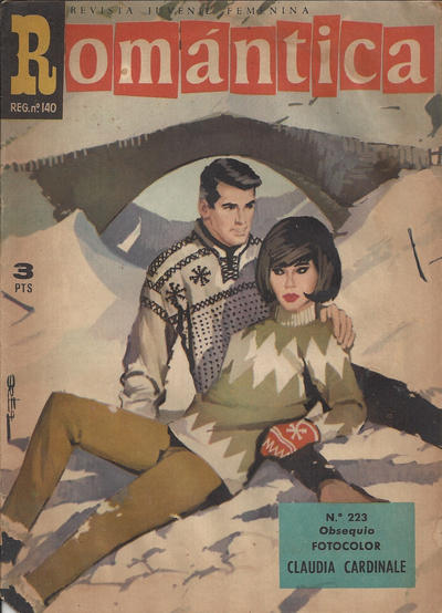 Cover for Romantica (Ibero Mundial de ediciones, 1961 series) #223