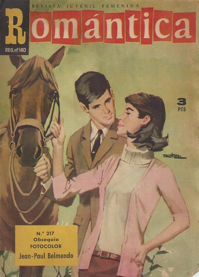 Cover for Romantica (Ibero Mundial de ediciones, 1961 series) #217