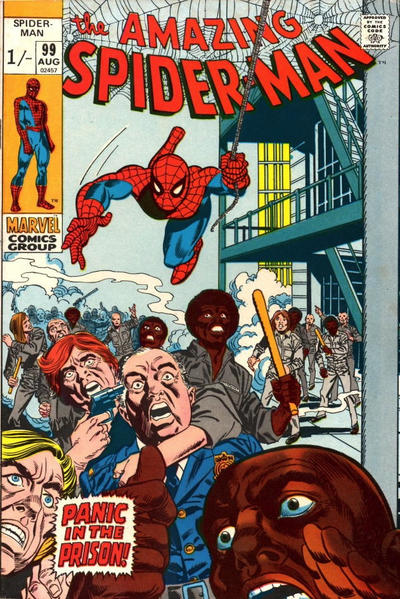 Cover for The Amazing Spider-Man (Marvel, 1963 series) #99 [Regular Edition]